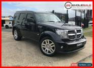 2010 Dodge Nitro KA SX Wagon 5dr Auto 4sp 4WD 3.7i [MY11] Black Automatic A for Sale